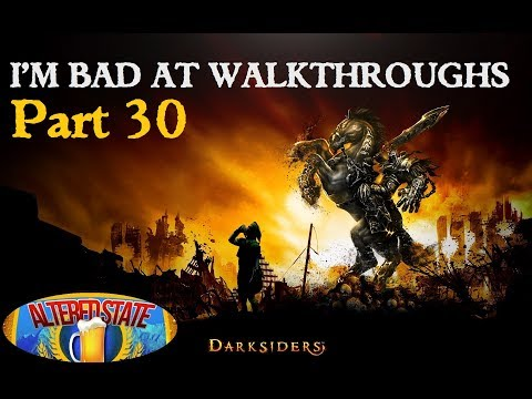 IBAW: Darksiders Part 30 - Freeing Azrael With the Final Beam