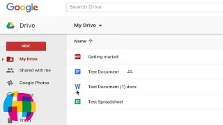Google Drive / Docs Tutorial 2016