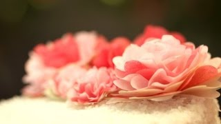 How to Make Punched Paper Flowers || KIN DIY