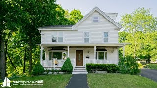 Home for sale - 124 Woburn St, Lexington