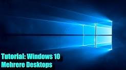 Windows 10 Mehrere Desktops (Tutorial)