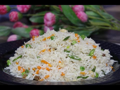 Vegetable Fried Rice Bengali Style - Fried Rice Recipe Bengali -How to make veg fried rice