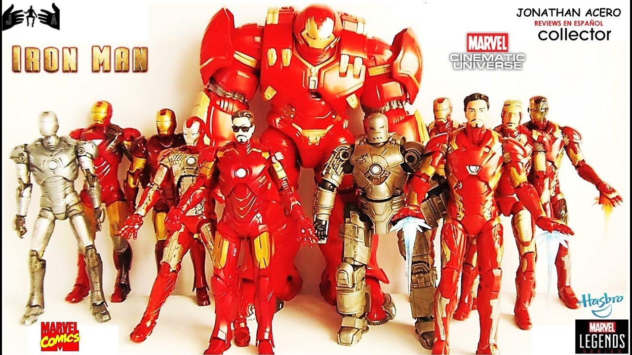 IRON MAN UCM Marvel Legends Toy Review Juguete Revisin En Espaol Jonathan Acero YouTube
