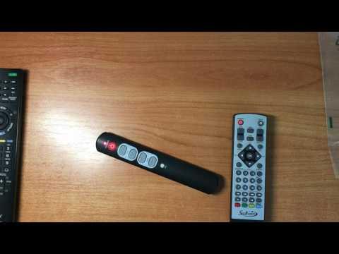 Как обучить пульт дистанционного управления от телевизора