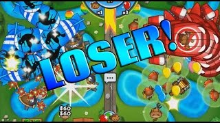 To Be A Loser While Winning - Bloons TD 5 Moab Pit
