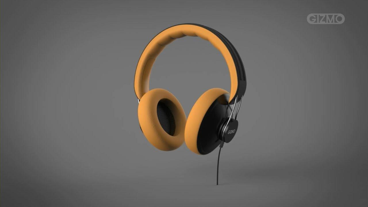 Solidworks Design Product Design Modeling Headphone