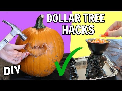 Halloween DIY Hacks From The Dollar Tree