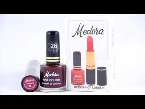Medora Nailpolish Shades With Numbers Youtube
