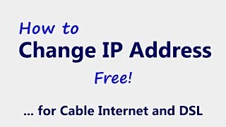 Change your IP Address | 4 Free Ways