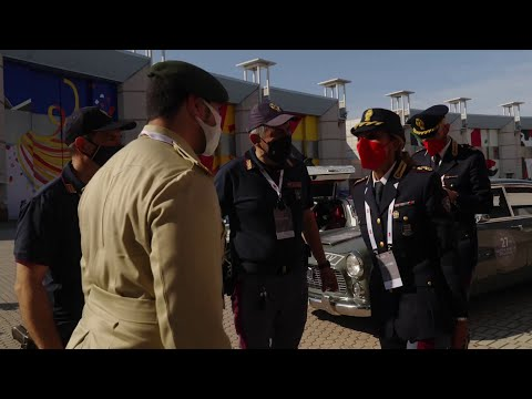 Dubai Police discover Italy | Mille Miglia | Emirates SkyCargo