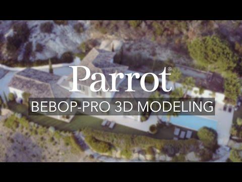 Parrot - Bebop-Pro 3D Modeling - All-in-one 3D Modeling Solution
