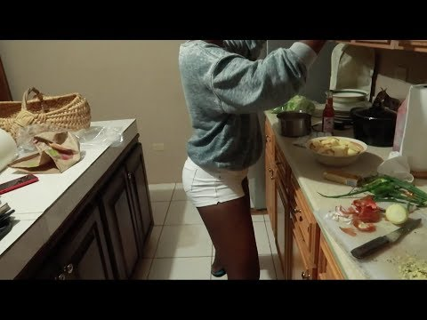 How Caribbean girls act cooking | Jamaica Vlog #224