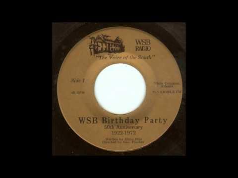 WSB Radio 50th Anniversary Record (1972)