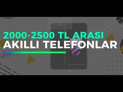 2000 - 2500 TL bütçe ile alınabilecek telefonlar!