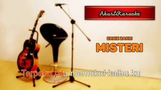 Ernie Zakri - Misteri ( Karaoke Versi Akustik )