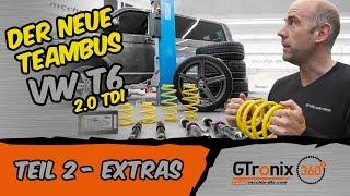 Nur das Beste für den Bus | VW T6 2.0 TDI | GTronix360° Team mcchip-dkr