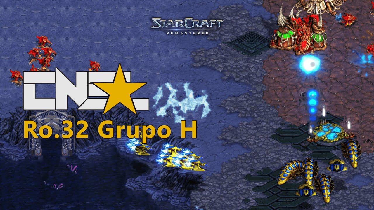 StarCraft Remastered CNSL 2 Ro32 Grupo H (versión 4k)