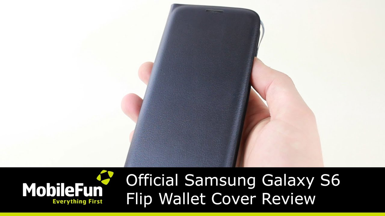 best service 30188 326f3 Official Samsung Galaxy S6 Flip Wallet Cover Review