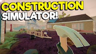 NEW Construction Simulator & House Flipper Game! - Landlord's Super Gameplay