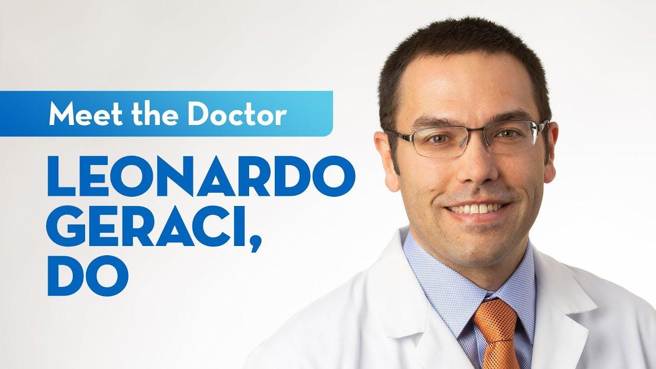 Meet Dr. Leo Geraci — General Surgeon at St. Elizabeth #Generalsurgery