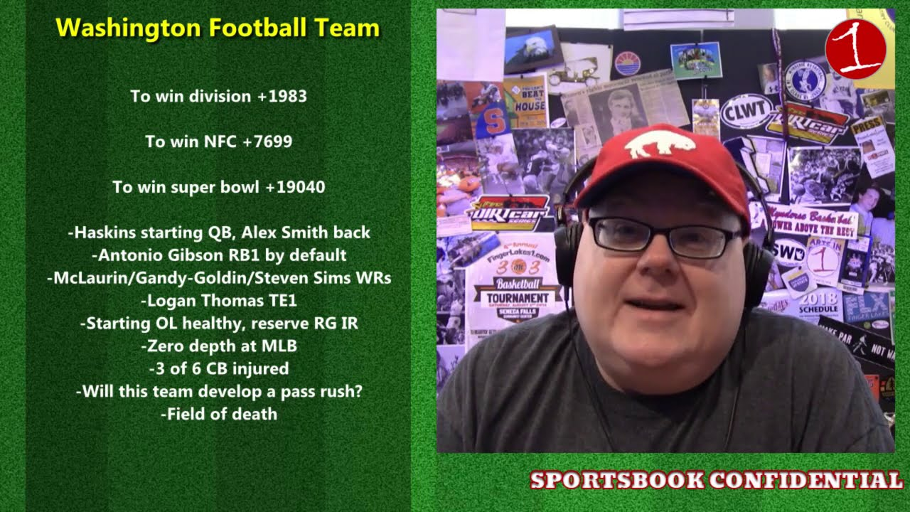 2020 NFL Week 1 & NFC East Preview .::. Sportsbook Confidential 9/11/20