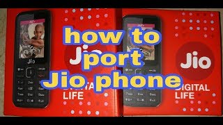 How to port Jio phone