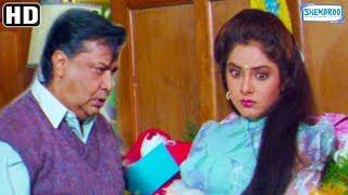 Divya Bharti gets a Love Letter from Rishi Kapoor - Deewana Scenes - Hit Bollywood Movie
