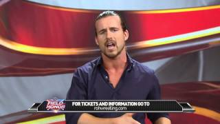 Adam Cole - Over Confidence Is The Kiss of Death - Field of Honor This Friday Night @ 7pm
