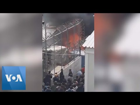 Fire Kills Minor at Overcrowded Refugee Camp in Greece