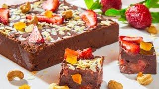 "Шоколадный десерт ""Рокки Роуд"".  Нow to make Rocky Road chocolate"