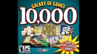 Windows 98 GALAXY OF GAMES 10,000 (read desc)