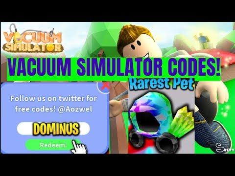 Homeless Simulator Code Roblox Vacuum Simulator Codes 2019 Youtube