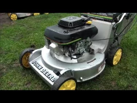 JOHN DEERE 14PB Lawnmower sat OUTSIDE too long. HOW TO Clean CARBURETOR and INSPECT components