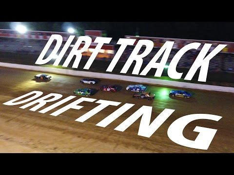 DJI Phantom 4 - Dirt Track DRIFTING