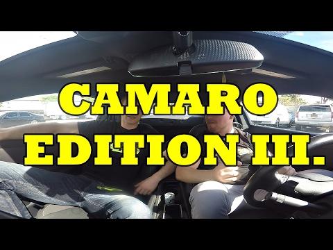 PRÁCE V AMERICE ... které neznáte! Camaro EDITION III.