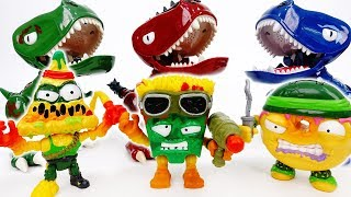 The Grossery Gang In The Town~! Can You Eat Them Big Eater Dinosaurs? - ToyMart TV