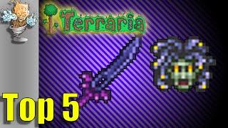 Terraria Pre Hardmode Weapons | Terraria Top 5 Pre Hardmode Weapons