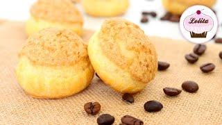 Receta: Profiterol craquelín con relleno de café