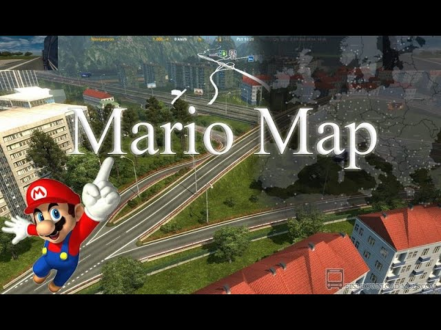 Mario Map for ETS2 v1.40