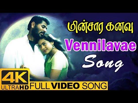 Vennilavae Song | Minsara Kanavu Tamil...