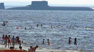 El Submarino más Grande del Mundo - Ruso - Soviet Typhoon, Akula Class 941 thumbnail