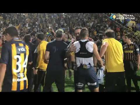 Los festejos del Rosario Central campeón