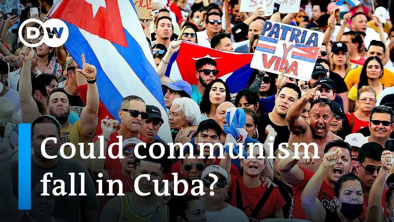 Download Cubans protest against communist regime: What are their demands?   DW News
