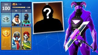 'NEW' UNLOCKING THE SECRET SUPERHERO SKINS IN SEASON 4 Fortnite Battle Royale