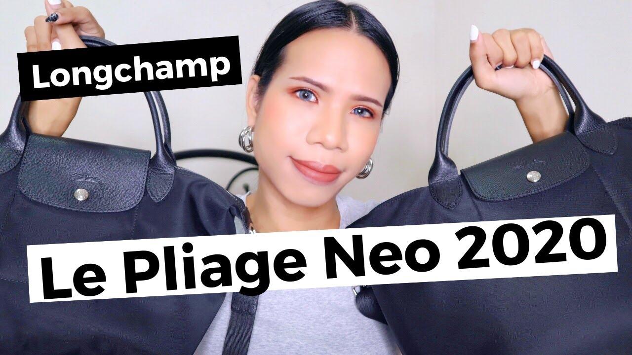 รีวิวเปรียบเทียบกระเป๋า Longchamp Le Pliage Neo รุ่นใหม่ 2020 | NutTy TLB