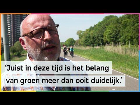 Groene gebieden in Amsterdam