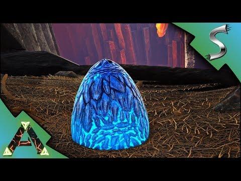 STEALING WILD LIGHTNING WYVERN EGGS! HIGH LEVEL WYVERN IMPRINTING - Ark: RAGNAROK [DLC Gameplay E36]