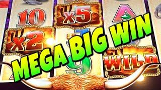 ★MEGA BIG WIN★ 3 WILD MULTIPLIERS | LONGHORN DELUXE SLOT MACHINE BONUS
