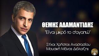 Θέμης Αδαμαντίδης - Είναι μικρό το σ' αγαπώ (Official Lyric Video)