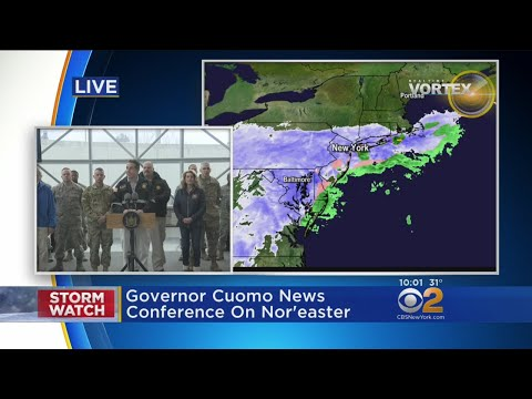 Gov. Cuomo Gives Storm Update From New York City